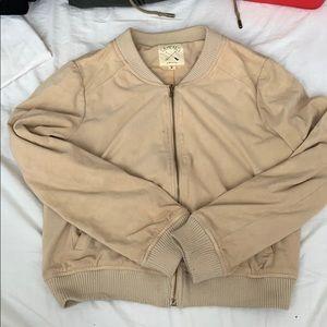 Pacsun velvet bomber jacket